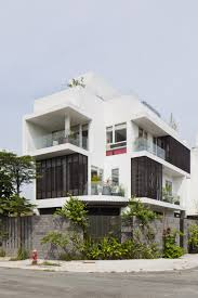 modern family home adapted to a tropical environment in vietnam