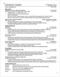 Financial Resume Sample by Investment Banking Resume Template Wall Street Oasis