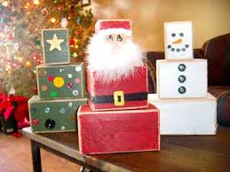 Woodworking Projects For Christmas Presents by Best 25 Christmas Blocks Ideas On Pinterest Christmas Wood