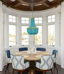 Coastal Dining Room Ideas by Decked And Styled Spring Home Tour Striped Rug Fiddle Leaf And