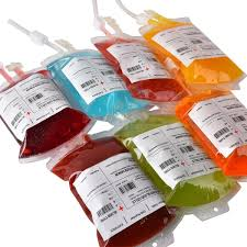 halloween drinks blood bag for bar theme party or related