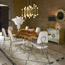 Jonathan Adler Home Decor by Jonathan Adler Bond Dining Table Candelabra Inc