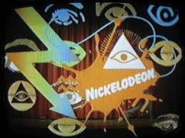 illuminati symbols, eye of horus, nickelodeon logo
