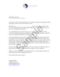 Letter Of Business Introduction by Real Estate Letters Of Introduction Introduction Letter Real