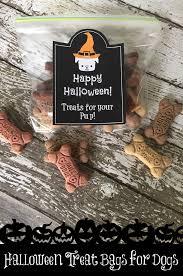 Printable Halloween Bags Treatthepups With Halloween Goodie Bags Free Printable Sippy