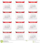 Ημερολόγιο 2015 Διανυσματική απεικόνιση - εικόνα: 43934139