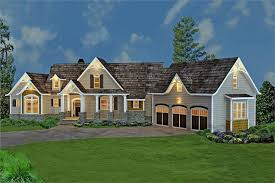 Hip Roof Ranch House Plans Craftsman Style Home Floor Plan 3 Bedrooms House Plan 106 1274