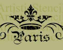 Shabby Chic Stencils by 242 Best Paris Dessins Pochoirs Images On Pinterest Drawings