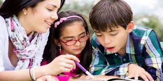 How a Nanny Can Help Kids with Homework   Our Kids Blog iStock girl babysitting    x    How Can a Nanny Help Your Kids with Their Homework