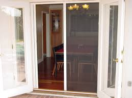 Patio French Doors Home Depot by Decor Almond French Sliding Door With Screen For Home Decoration