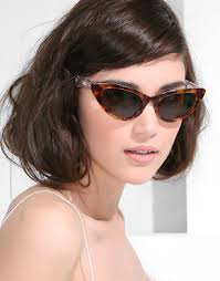 Cat eye female sunglasses