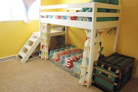 Diy Bunk Bed With Slide by Loft Bunk Beds With Stairs Diy Loft Bunk Beds With Stairs Ideas