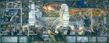 Mural Painting Sketches by A Rare Look At How Diego Rivera Turned Sketches Into His Iconic