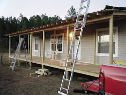 Screen Porch Roof by 9 Beautiful Manufactured Home Porch Ideas