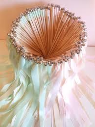 wedding ribbon wands