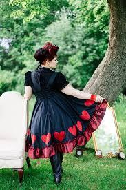 Red Queen Halloween Costume Queen Hearts Costume Dress Fairytale Halloween