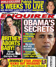 Clinton Supporter's Rag, the National ENQUIRER, Calls Obama a ...