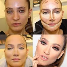 how to contour and highlight beauty zone