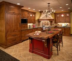 kitchen brown wooden cabinet island white countertop kitchen