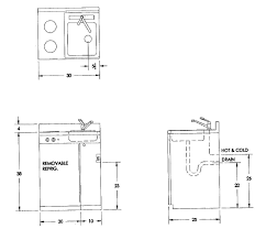 Kitchen Sink Cabinet Dimensions : Kitchen Sink Plumbing Rough in Dimensions