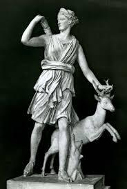 Greek religion   ancient religion   Britannica com Artemis as a huntress  Classical sculpture  in the Louvre  Paris