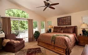 serene minimalist interior design photo using rustic wooden beam