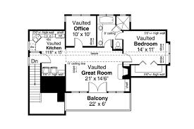 garage plan 20 119 second floor plan gambrel barn pinterest