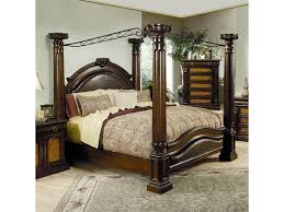 Tall Canopy Bed by Bedroom Dark Brown Wooden Canopy Bed Designed With Rectangular
