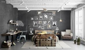 bedroom wonderfully artistic and brilliant metal coat stand full image for industrial rustic bedroom scheme ideas with unique vintage furniture and stunning decorations