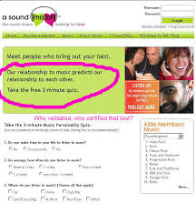 Breaking the online dating sound barrier quot   May