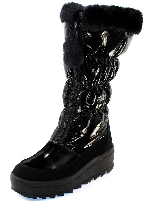 Pajar Toboggan 2.0 Nylon Waterproof Snow Boots Black 37 EU/6-6.5 US