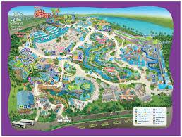 Map Of Downtown Disney Orlando by Aquatica Seaworld Orlando Map And Pdf
