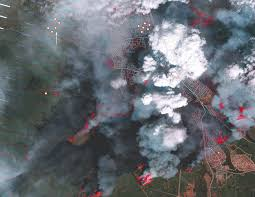 New Mexico Wildfire Map by Thousands More Flee Fast Spreading Wildfire In Canada The New