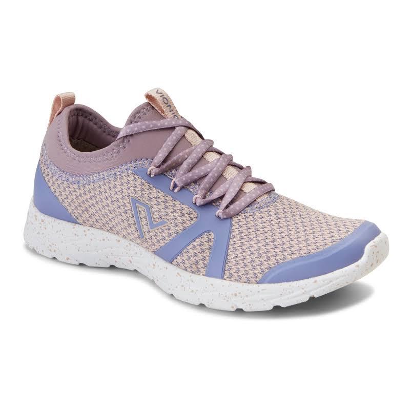 Vionic Brisk Alma Purple Multi Walking Shoes