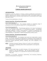 comprehensive resume sample for nurses clinical nurse specialist cover letter sample resume clinical informatics specialist