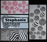 Decorating with Wall Vinyl: New Wall Vinyl Decor - Zebra/Animal ...