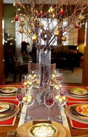how to decorate a christmas table for christmas party holiday