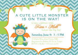 printable baby shower invitations for boys monster baby shower invitation boy invitation monster shower