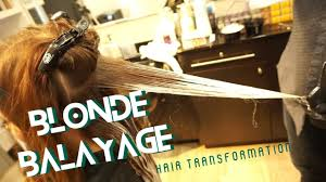 blonde balayage hair transformation before u0026 after glitterati