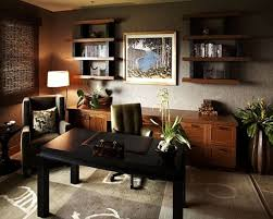 modern home office design with leather chair home office ideas