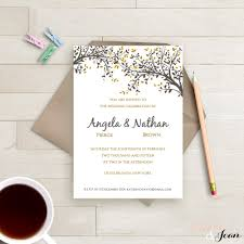 Editable Wedding Invitation Cards Free One Page Wedding Invitations Invitation Ideas