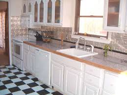 White Tin Backsplash Home Decorating Ideas  Interior Design - White tin backsplash