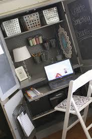 Desk Armoire Plain Armoire Into Office Space