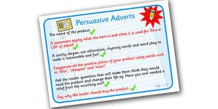 persuasive speech writing ks