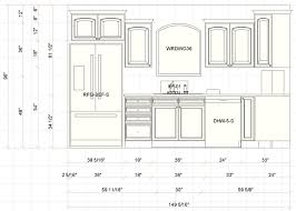 the importance of kitchen cabinet dimensions amazing home decor