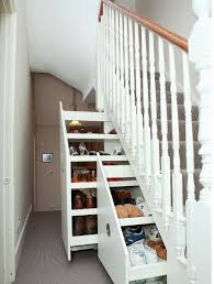 furniture amazing under stairs storage with sliding design