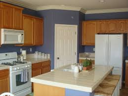 Paint Colors For Kitchen Walls With Oak Cabinets Blue Kitchen Paint Color Ideas Kitchen Color Paint And Color Ideas