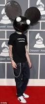 Deadmau5 Costume Halloween Madonna Hits Dance Dj Deadmau5 Accusing