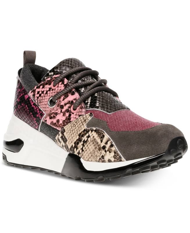 Steve Madden Cliff Sneakers Pink- Womens