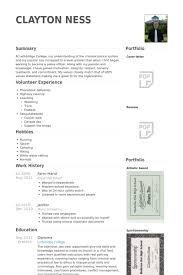Teamwork Resume Sample by Farm Hand Resume Samples Visualcv Resume Samples Database
